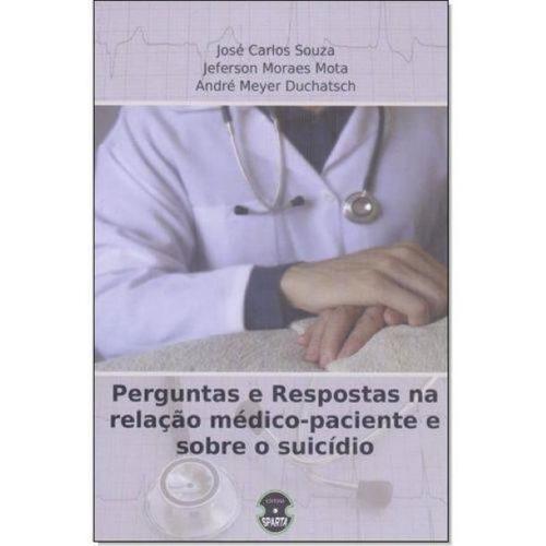 livro perguntas e respostas medico-paciente sobre o suicídio
