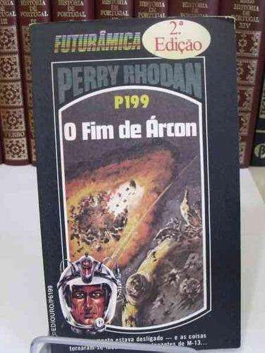 livro - perry rhodan - o fim de árcon - p199