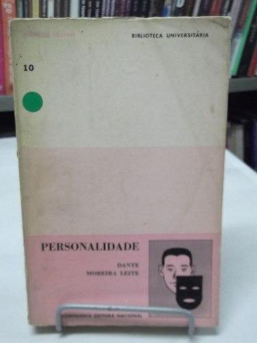 livro - personalidade - dante moreira leite