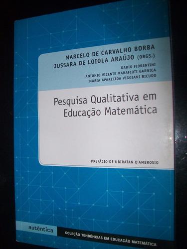 livro pesquisa qualitativa em ed  matemática