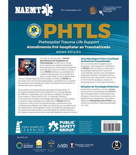 livro - phtls: atendimento pré-hospitalar ao traumatizado