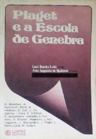acf43130f47 Livro Piaget E A Escola De Genebra Luci Banks Leite(org.) - R  29