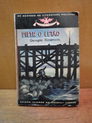livro pietr o letão georges semenon literatura policial