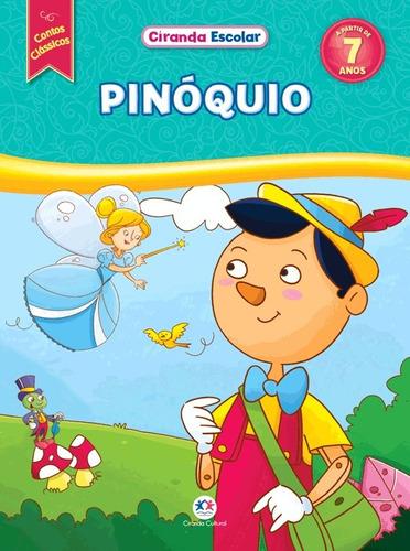 livro pinóquio - contos clássicos ciranda cultural infantil