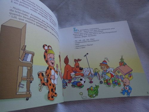 livro pinoquio silvio santos volume 01 s/cd r.794