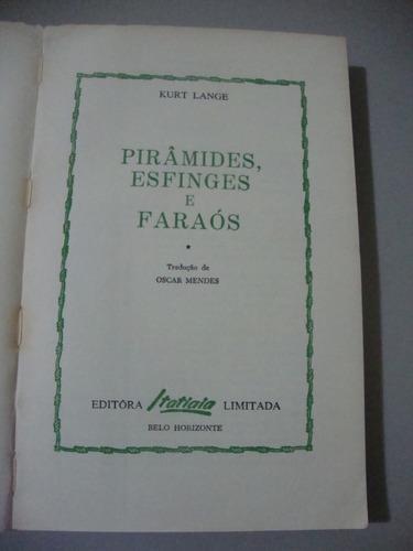 livro   pirâmides, esfinges e faraós