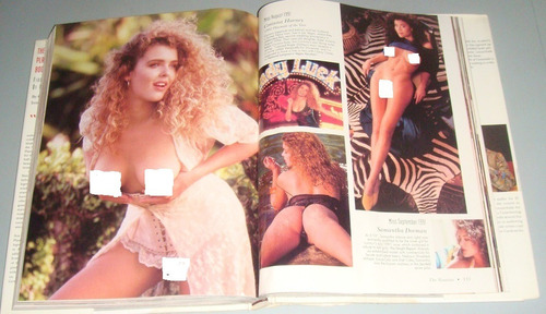 livro playboy playmate book 5 decades centerfolds danificado