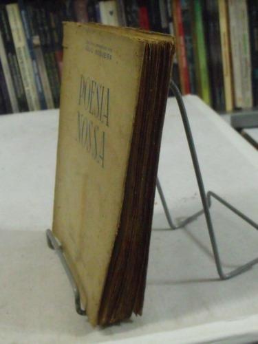 livro - poesia nossa - julio nogueira org