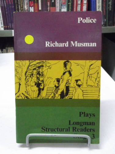 livro - police: longman structural readers plays - stage 3