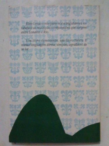 livro:  ponte rio-londres - elise lessa