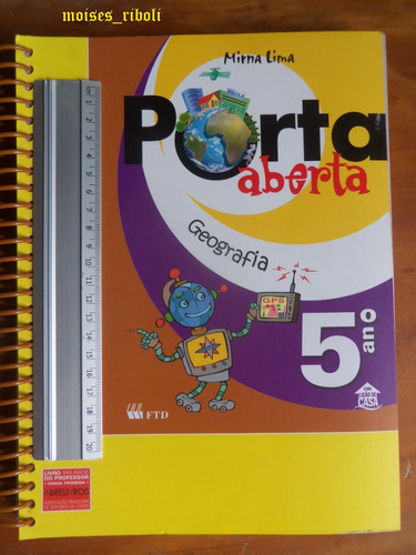 livro porta aberta geografia 5º ano do professor ww