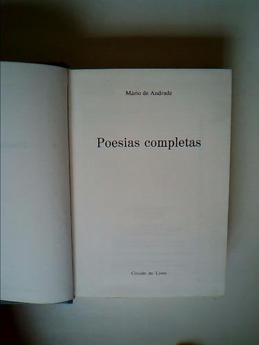 livro - posias completas - mário de andrade