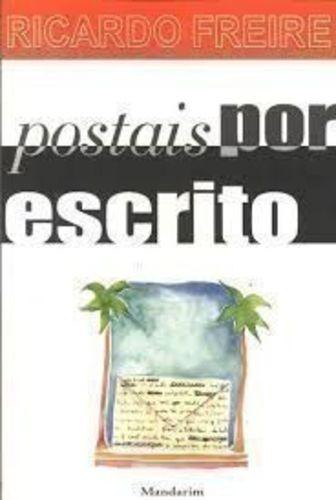livro postais por escrito ricardo freire