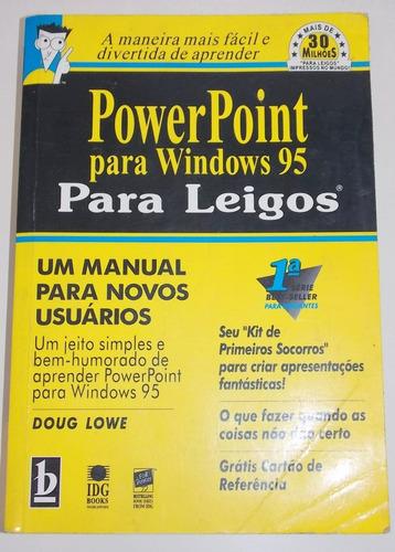 livro power point para windows 95 para leigos doug lowe