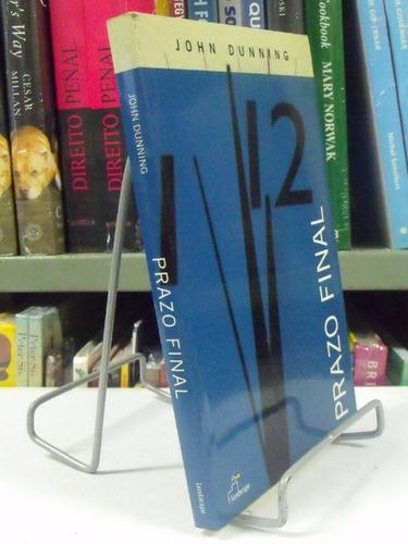 livro - prazo final - john dunning
