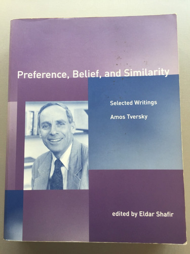 livro preference, belief and similarity