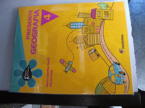 livro presente geografia 4