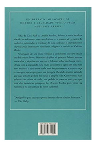 livro princesa sultana - sua vida, sua luta - jean p. sasson