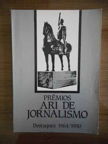 livro prêmios ari de jornalismo destaques 1964/1990