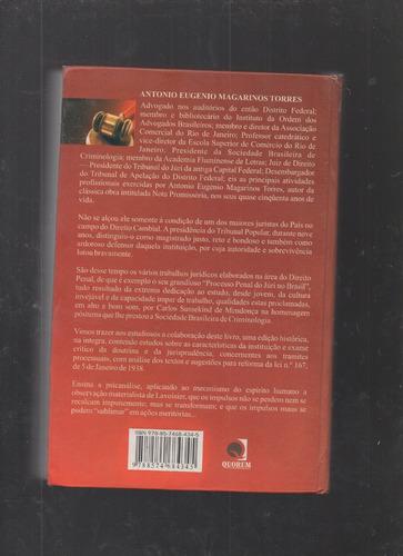 livro processo penal do júri no brasil- magarino torres