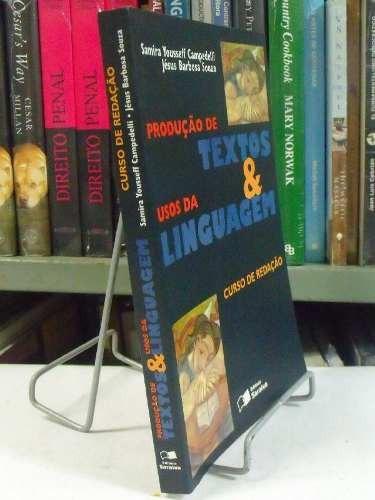 livro - produção de textos & usos da linguagem