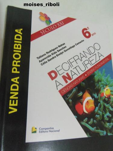 *livro professor decifrando a natureza 6º ano fundamental tt