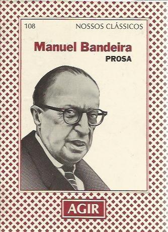 livro prosa manuel bandeira