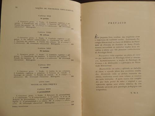 livro psicologia e pedagogia theobaldo miranda santos v. 3