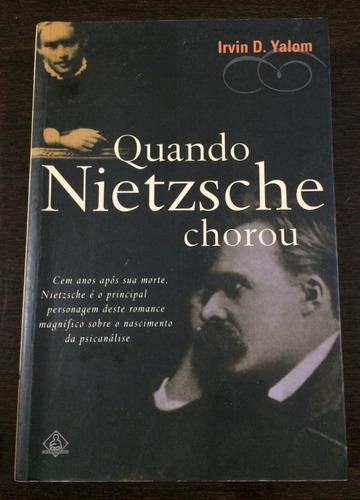 livro quando nietzsche chorou irvin d. yalom