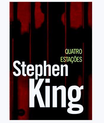 livro quatro estações - stephen king lacrado edição normal