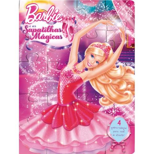 livro quebra-cabeca barbie e as sapatilhas magicas ciranda