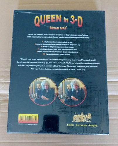 livro queen in 3d lançamento lacrado