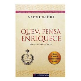 Livro Quem Pensa Enriquece - Napoleon Hill