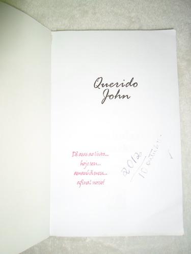 livro - querido john - nicholas spark  só 15,99 barato