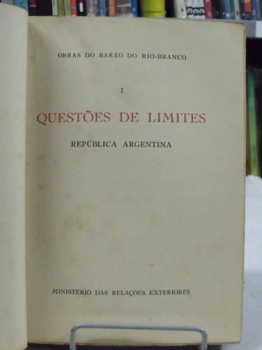 livro - questões de limite - republica argentina