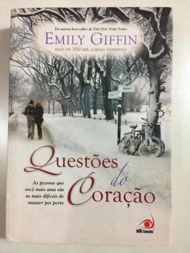livro: questões do coração  - emily giffin