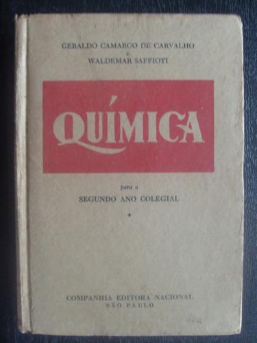 livro - química - 2º ano colegial - saffiot - 1953