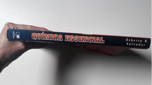 livro química essencial v.único usberco e salvador ens.médio