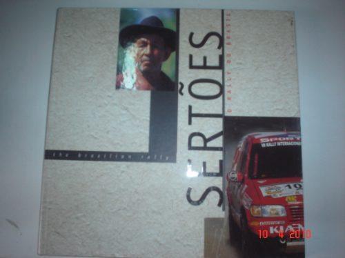 livro rally dos sertões 1999 4x4 off road paris dakar truck