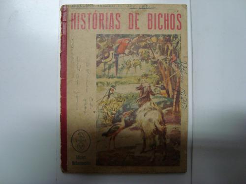 livro raro - histórias de bichos