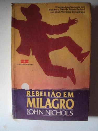 livro rebelião em milagro de john nichols (2-c)