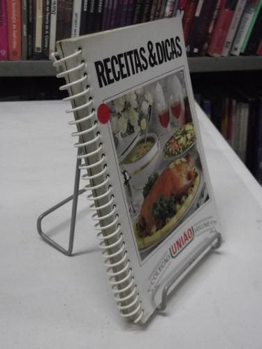 livro - receitas & dicas vol.4- coleção união