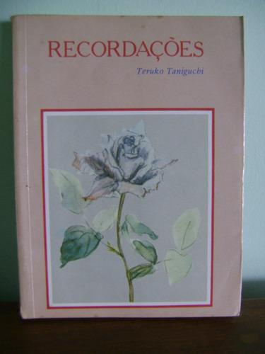 livro recordações - teruko tanigucho