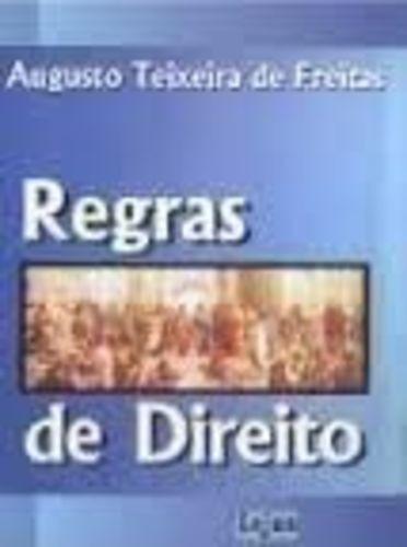 livro regras de direito augusto teixeira de freitas