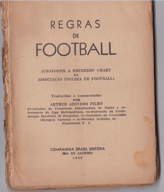 Resultado de imagem para livro de regra do futebol