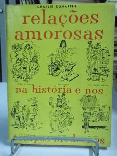 livro - relações amorosas na história e nos tempo modernos