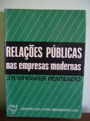 livro relações públicas nas empresas modernas - penteado