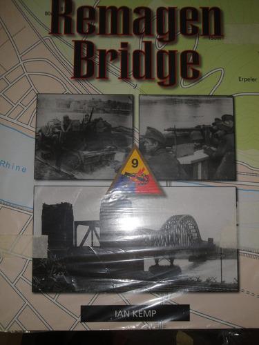 livro remagen bridge,ww2,guerra,feb,fab, em ingles-alemão