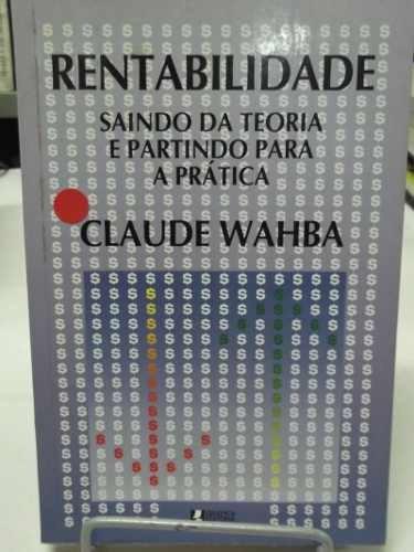 livro - rentabilidade - claude wahba