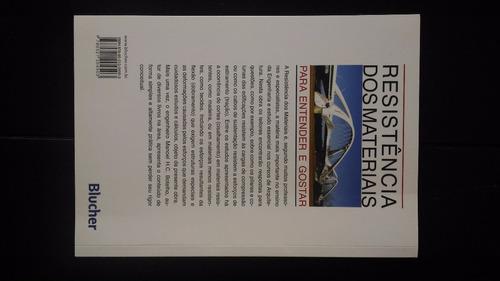 livro resistência dos materiais manoel henrique campos
